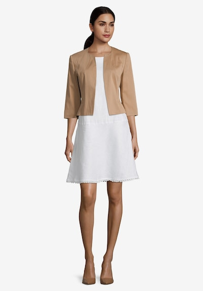 Betty Barclay Kurzblazer mit 3/4 Arm in beige / hellbraun, Modelansicht