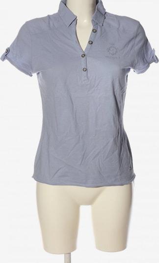 GIN TONIC Polo-Shirt in S in hellgrau, Produktansicht