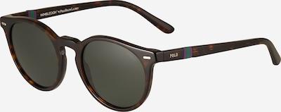 Polo Ralph Lauren Lunettes de soleil '0PH4151' en brun foncé / vert foncé, Vue avec produit