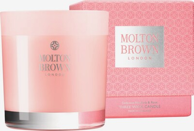 Molton Brown Kerze 'Delicious Rhubarb & Rose Three' in rosa, Produktansicht