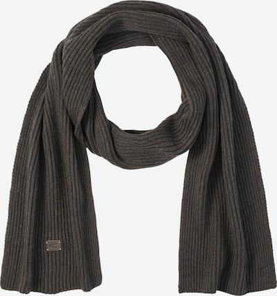 CAMEL ACTIVE Schal aus Baumwolle und Kaschmir in dunkelgrün, Produktansicht