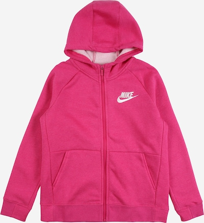 Nike Sportswear Tepláková bunda - ružová / biela, Produkt