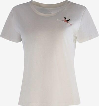 mazine T-Shirt ' Blakely ' in offwhite, Produktansicht