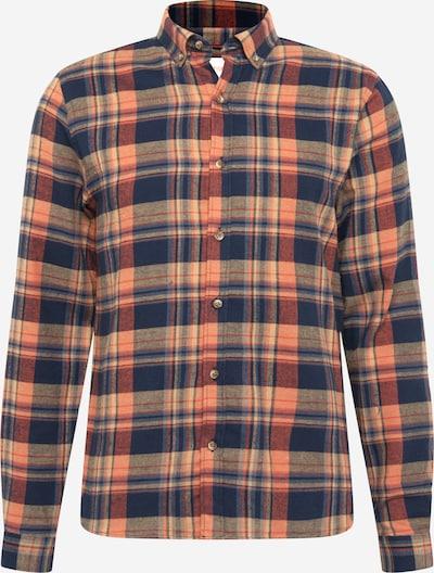 Revolution Shirt in Navy / Orange, Item view