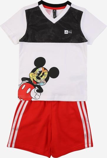 ADIDAS PERFORMANCE Спортен костюм в пъстро / червено / черно / бяло, Преглед на продукта