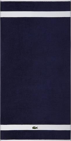 LACOSTE Towel in Blue
