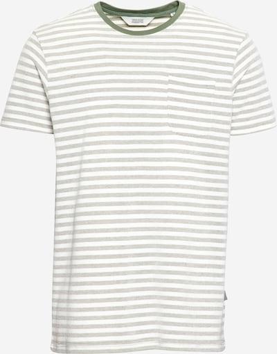 !Solid Тениска 'Pete' в маслина / бяло, Преглед на продукта