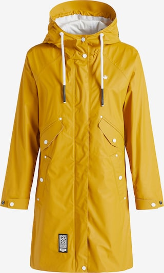 khujo Functionele mantel 'SOLEA2' in de kleur Geel, Productweergave