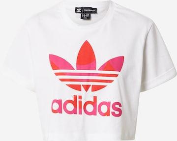 ADIDAS ORIGINALS Shirt in White