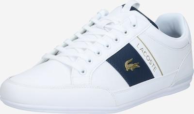LACOSTE Nízke tenisky - modrá / zlatá / biela, Produkt