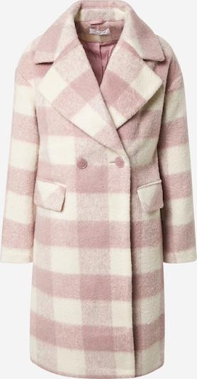 GLAMOROUS Mantel in rosé / weiß, Produktansicht