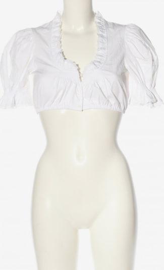 Lodenfrey Trachtenbluse in S in weiß, Produktansicht