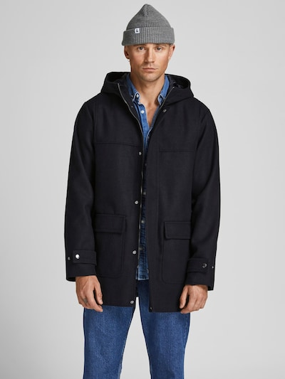 JACK & JONES Prechodný kabát 'Felix' - námornícka modrá, Model/-ka