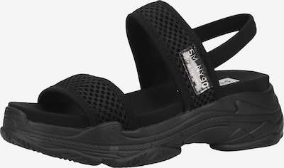 STEVE MADDEN Sandales à lanières en noir, Vue avec produit