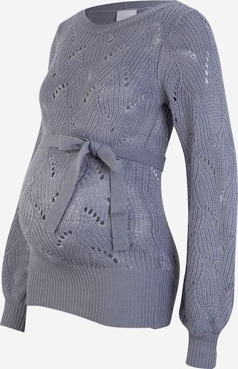 MAMALICIOUS Pull-over 'ANNA' en bleu-gris, Vue avec produit
