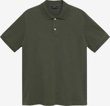 MANGO MAN Poloshirt 'REA' in Grün