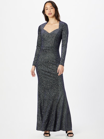 Lipsy Kleid in navy / transparent, Modelansicht