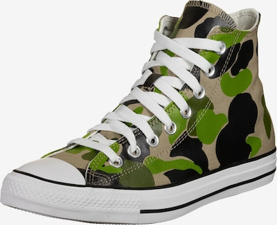 CONVERSE Sneaker 'Chuck Taylor All Star' in grün / khaki / schwarz / weiß, Produktansicht