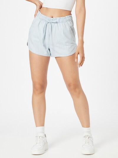 American Eagle Панталон в светлосиньо / бяло: Изглед отпред