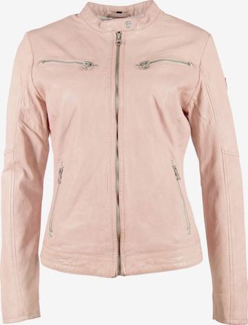 Gipsy Lederjacke 'CHARLEE' in Pink