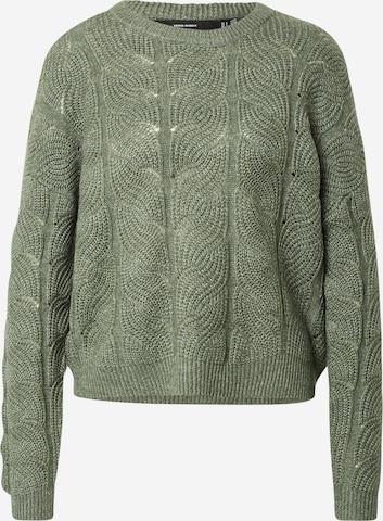 VERO MODA Sweater 'Stinna' in Green