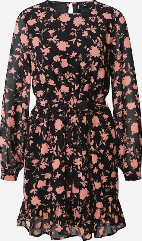vero moda kleid in rosa / schwarz | about you