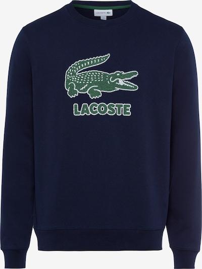 LACOSTE Sweat-shirt en bleu, Vue avec produit