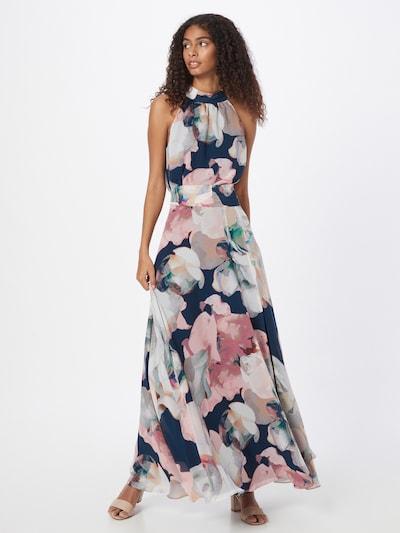SWING Φόρεμα σε ναυτικό μπλε / ανάμεικτα χρώματα, Άποψη μοντέλου