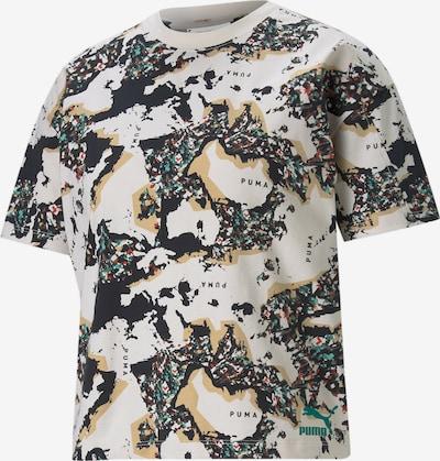 PUMA Shirt in de kleur Sand / Aqua / Rood / Zwart / Wit, Productweergave