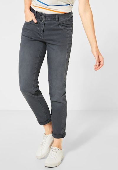 CECIL Jeans 'Gesa' in de kleur Grey denim, Modelweergave