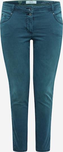 CECIL Pantalon 'Style Gesa' en pétrole, Vue avec produit