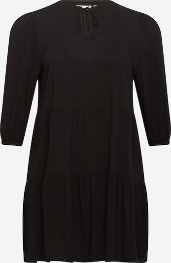 ONLY Carmakoma Vestido camisero en negro, Vista del producto