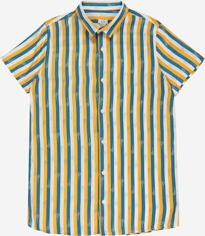 River Island Overhemd in de kleur Blauw / Safraan / Wit, Productweergave