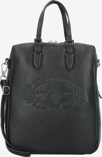 U.S. Polo Assn. Tasche 'Hailey' 33cm in schwarz, Produktansicht