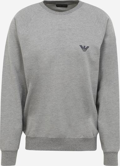 Emporio Armani Sweatshirt in de kleur Navy / Grijs gemêleerd, Productweergave