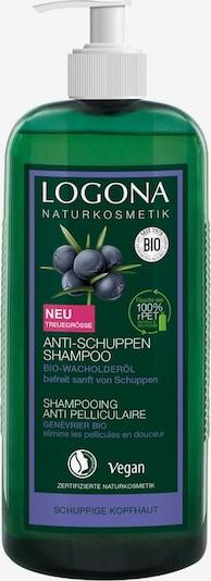 Logona Shampoo 'Bio-Wacholderbeere' in grün, Produktansicht