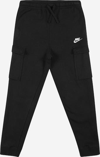 Nike Sportswear Sportske hlače u crna / bijela, Pregled proizvoda