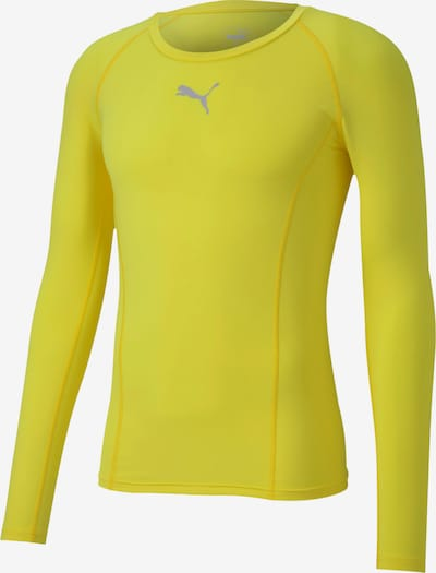 PUMA Base Layer 'Liga' in gelb, Produktansicht