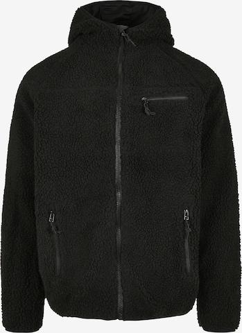 Brandit Jacke in Schwarz