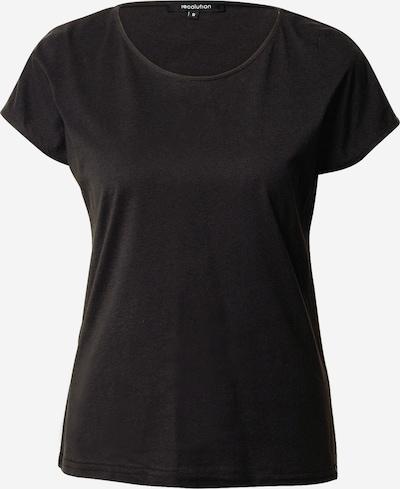 recolution Shirt in schwarz, Produktansicht