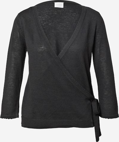 VILA Strickjacke 'DENICE' in schwarz, Produktansicht