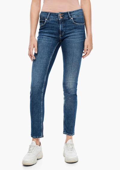 Q/S designed by Jeans in dunkelblau, Modelansicht