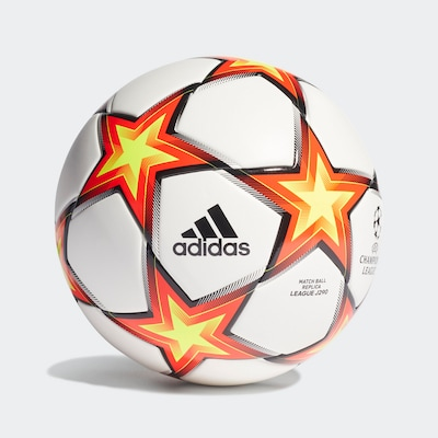 ADIDAS PERFORMANCE Ball 'UCL Pyrostorm League Junior' in mischfarben / orange / weiß, Produktansicht