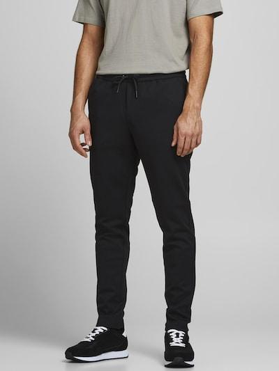 JACK & JONES Byxa 'Will' i svart, På modell