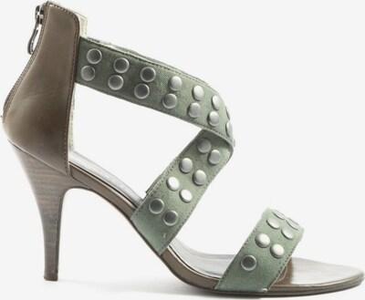 TAMARIS High Heel Sandaletten in 41 in braun / grün, Produktansicht