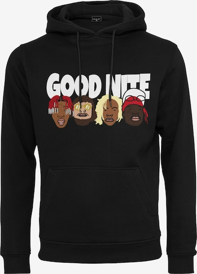 Megztinis be užsegimo 'Goodnite' iš Mister Tee , spalva - ruda / mišrios spalvos / raudona / juoda / balta, Prekių apžvalga