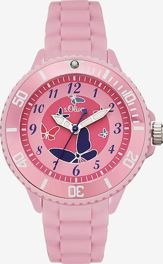 s.Oliver Quarzuhr in rosa, Produktansicht