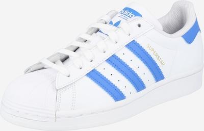 ADIDAS ORIGINALS Sneaker low 'Superstar' i royalblå / hvid, Produktvisning