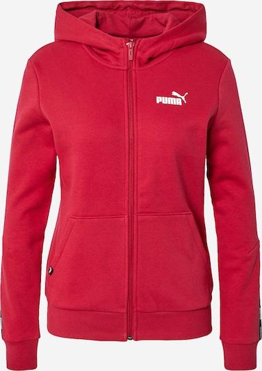 PUMA Mikina s kapucí 'POWER' - tmavě červená / černá / bílá, Produkt