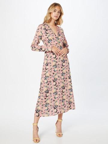 Robe-chemise 'OREGLISSE' PAUL & JOE en rose